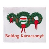 Hungary Christmas 2 Throw Blanket