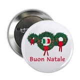 "Italy Christmas 2 2.25"" Button"