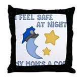 Safe at Night (mom) Throw Pillow