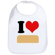 I heart twinkies Bib
