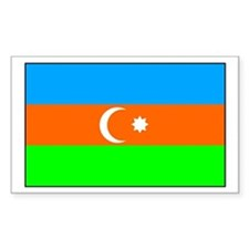 Azerbaijan Rectangle Decal