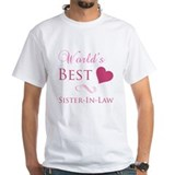World's Best Sister-In-Law (Heart) Shirt