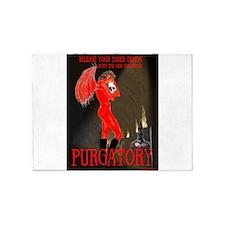 purgatory 5'x7'Area Rug