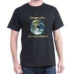 Geography Dark T-Shirt