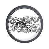 Don Quixote 1 Wall Clock