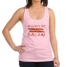 Powered By Bacon Racerback Tank Top