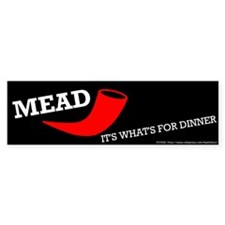 Mead Bumper Bumper Sticker