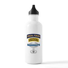 SF Ranger CIB Airborne Master Water Bottle