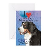 Bernese Mountain Dog Greeting Cards (Pk of 10)
