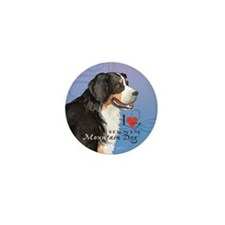 Bernese Mountain Dog Mini Button