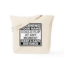 Personalized Gymnast Flip Tote Bag