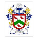 Bonekill Coat of Arms Small Poster
