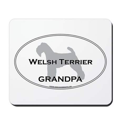 Welsh Terrier GRANDPA Mousepad