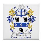 Bissland Coat of Arms Tile Coaster