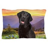 Labrador Meadow Pillow Case