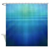 Underwater Light Shafts- Shower Curtain