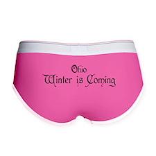 Ohio Winter is Coming Women's Boy Brief