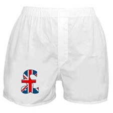 Union Jack Pound Boxer Shorts