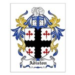 Adiston Coat of Arms Small Poster