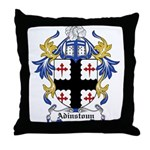 Adinstoun Coat of Arms Throw Pillow