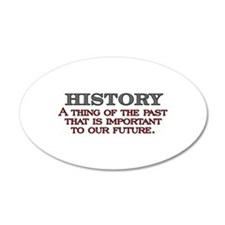 History A Thing of the Past Wall Sticker