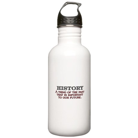 History A Thing of the Past Stainless Water Bottle