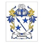 Achmuty Coat of Arms Small Poster