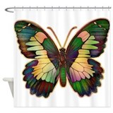 Luminous Butterfly Shower Curtain
