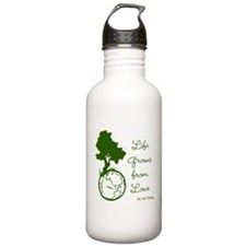 Life Grows From Love (World Love) Water Bottle