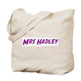 Mrs Hadley Tote Bag