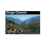 Kings canyon national park Rectangular Magnet