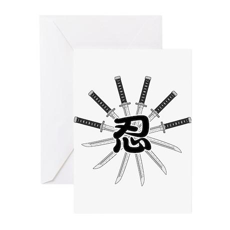 Shinobi Greeting Cards (Pk of 20)