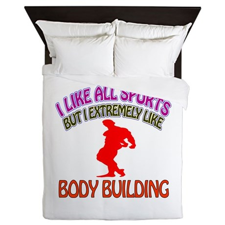 Body building Design Queen Duvet