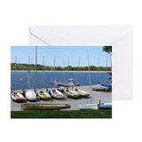 Sailboat Marina Greeting Cards (Pk of 10)