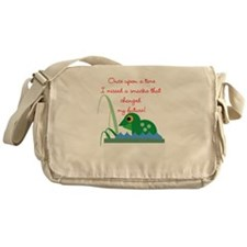 Frog Prince Messenger Bag