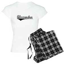 Alexandra, Aged, pajamas