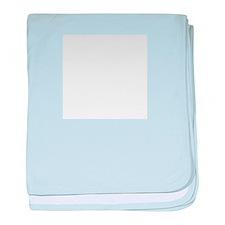 Blank baby blanket