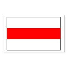 Belarus Rectangle Decal