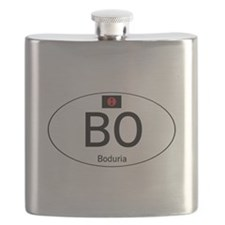 Car code Boduria White Flask
