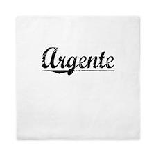 Argente, Aged, Queen Duvet