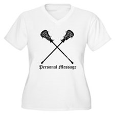 Personalized Lacrosse Sticks T-Shirt