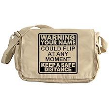 Personalized Gymnastic Warning Messenger Bag