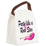 ROCK STAR Canvas Lunch Bag