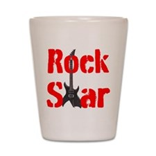 ROCK STAR Shot Glass