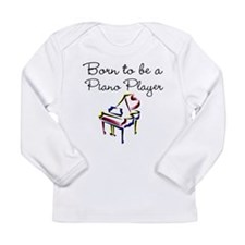 PIANO PLAYER Long Sleeve Infant T-Shirt