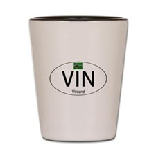 Car code Vinland - White Shot Glass
