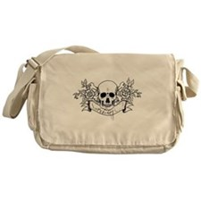 Skull Rose: Surviving C.F. Messenger Bag