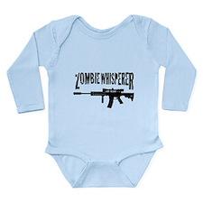 Zombie Whisperer 2 Long Sleeve Infant Bodysuit