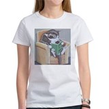 cat_reading_new T-Shirt