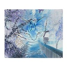 Spirit Cat Throw Blanket